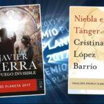 Javier Sierra y Cristina Lopez Barrio, Ganador y Finalista del Premio Planeta 2017